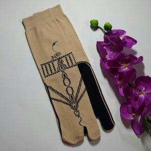 Grosir kaos kaki jempol motif dan kaos kaki wudhu murah 6